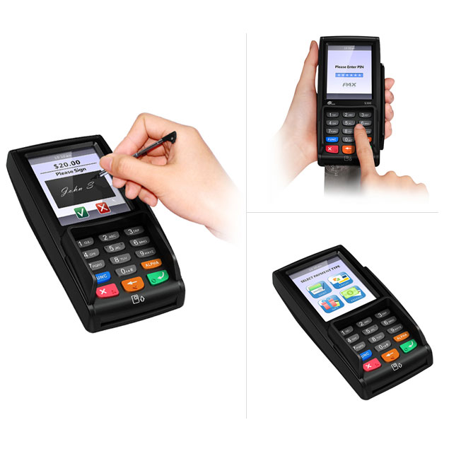 Pax S300 Integrated Retail Smart Pinpad Point of Sale Credit Card Terminal